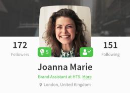 Joanna Marie's Profile on Wise Amigo